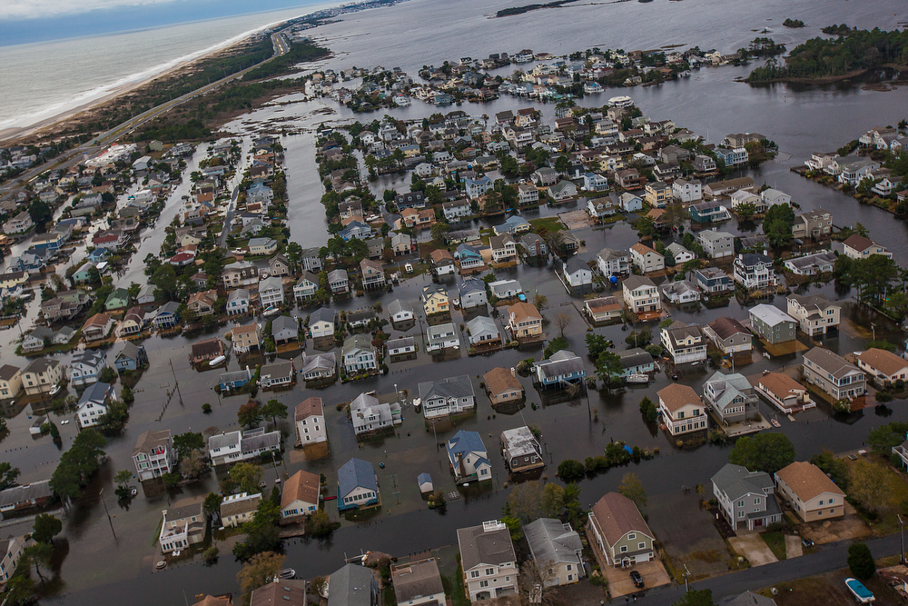 Silver lining of hurricane Sandy is awareness of climate change