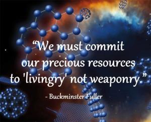 buckyball fullerene art -livingry