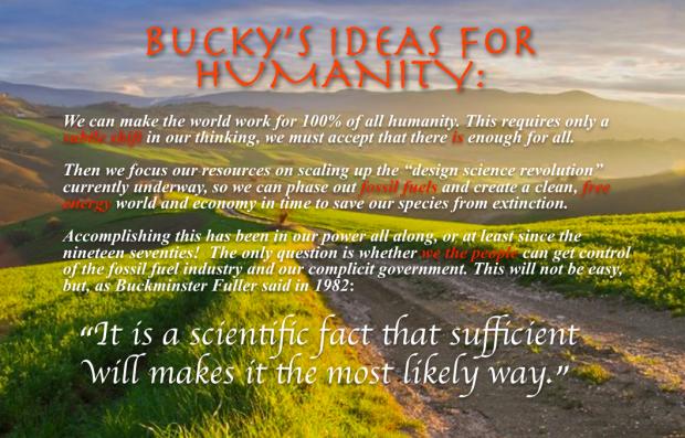 Bucky's Blue Sky Thinking